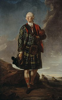 Attributed to Sir George Chalmers - Sir Alexander Macdonald (Sir Alasdair MacDhòmhnaill Shlèite), 1744 - 1795. 9th Baronet of Sleat and 1st Baron Macdonald of Slate - Google Art Project.jpg