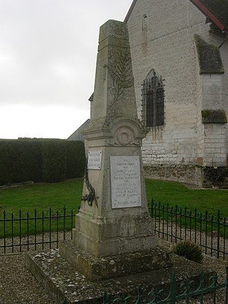 Aubeterre - War memorial
