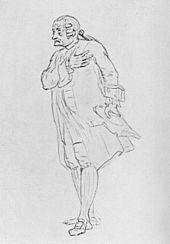 August Wilhelm Iffland als Bittermann (Quelle: Wikimedia)
