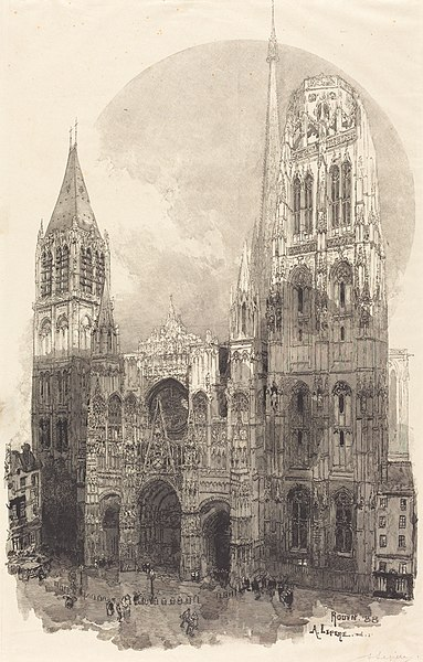 rouen cathedral - image 10