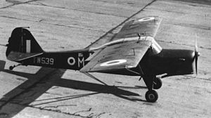 Auster AOP.6 - Auster AOP.6 operational with 663 (AOP) Squadron in 1954