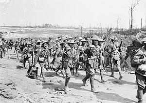 2nd Machine Gun Battalion (Australia) - Machine gunners from the 5th, 6th or 7th Machine Gun Companies