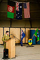 Australian Army Col. Simon Stuart, the outgoing commander of Combined Team Uruzgan, delivers remarks during a transfer of authority ceremony Aug. 7, 2013, at Multinational Base Tarin Kowt in Uruzgan province 130807-O-MD709-067-AU.jpg