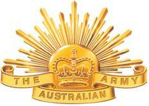 New Zealand and Australian Division - Image: Australian Army Emblem