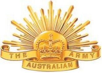 Andrew McLachlan - Image: Australian Army Emblem