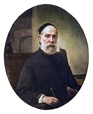 Francesco Hayez - Self-Portrait at the age of 88