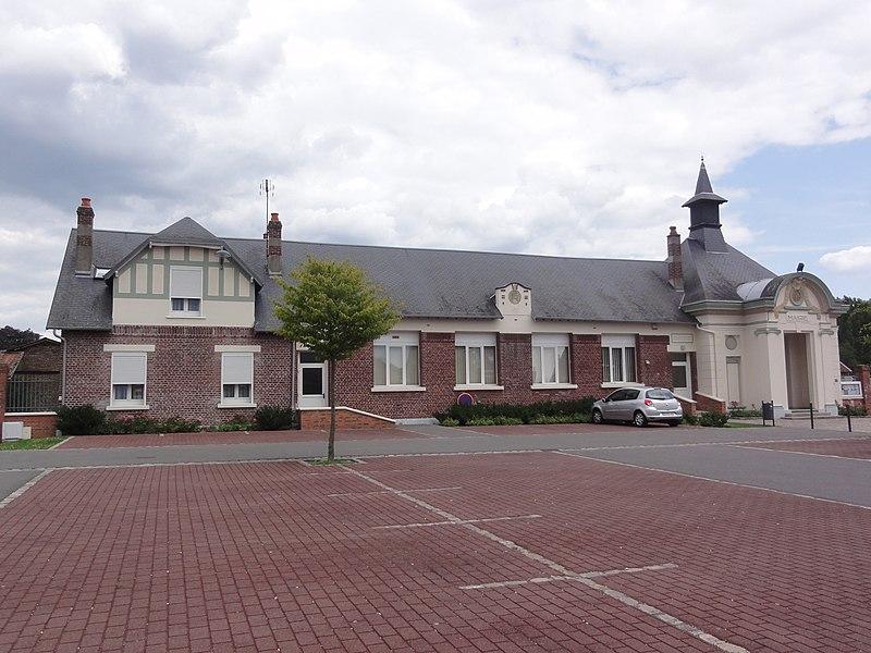 Autreville (Aisne) mairie