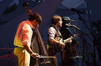 The Avett Brothers - The band at Pickathon, Portland, Oregon, 2006