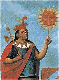 Manco Capac, first king of the Kingdom of Cuzco.