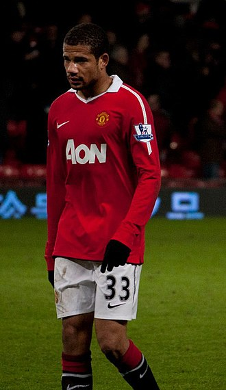 Bebé - Bebé playing for Manchester United in 2011