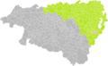 Bénéjacq (Pyrénéees-Atlantique) dans son Arrondissement.png