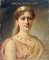 Bérard - Portrait d'Adeline Dudlay (1858-1934), sociétaire de la Comédie-Française, dans le rôle d'Alcmène - P1151 - Musée Carnavalet.jpg