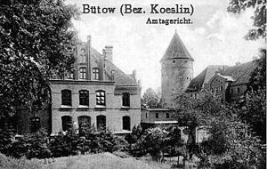 Bytów - Bütow around 1900.