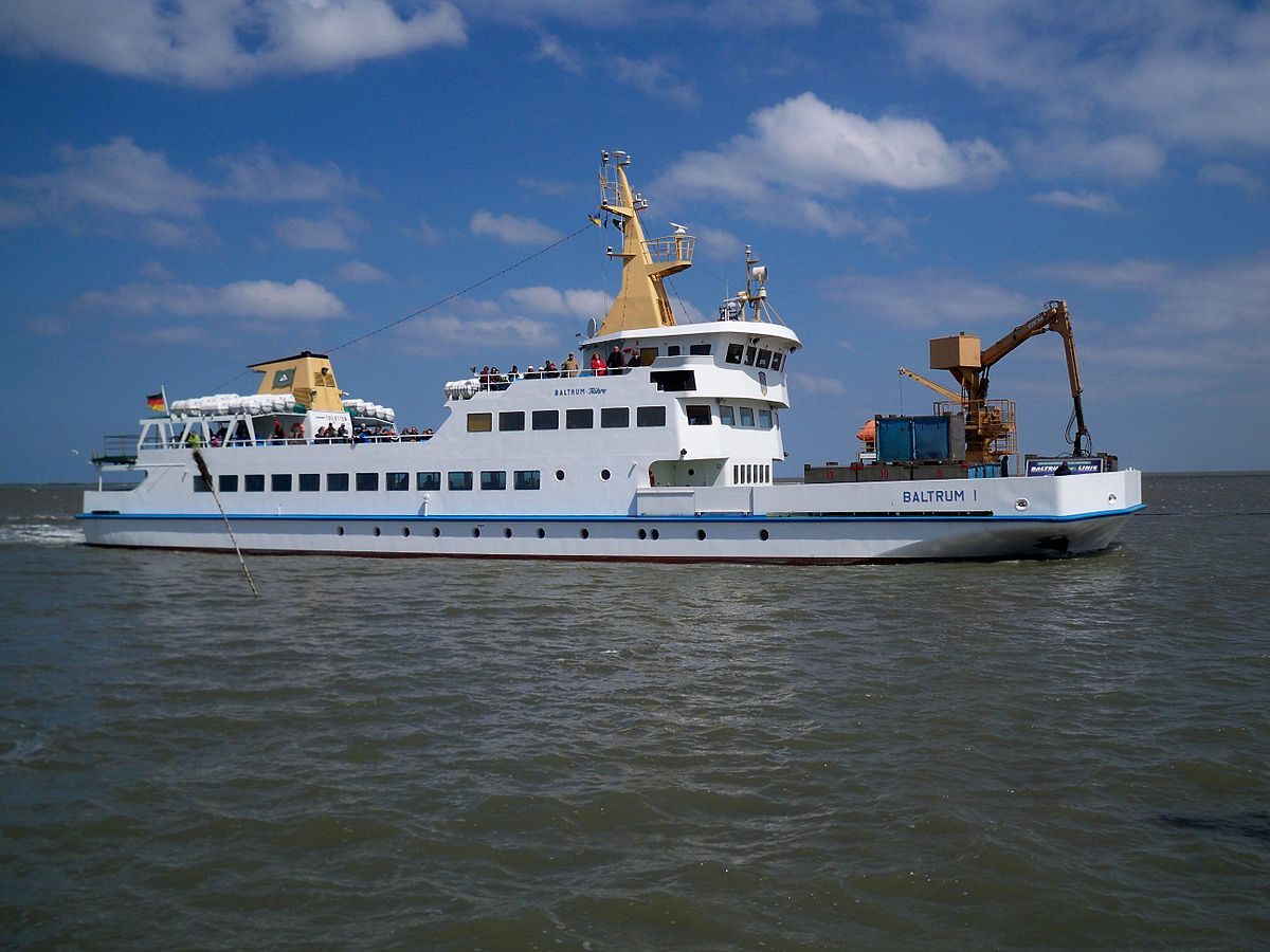 List of ferry boats of the East Frisian Islands
