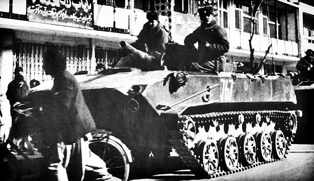 Советские десантники на БМД-1, Афганистан, 1986.