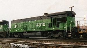 GE Dash 7 Series - A Burlington Northern B30-7A.