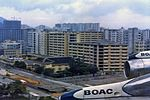 BOAC Boeing 707-436 on finals into Kai Tak Airport.jpg