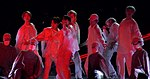 """BTS performing """"Mic Drop"""" during Love Yourself concert in Hong Kong, 24 March 2019 05.jpg"""