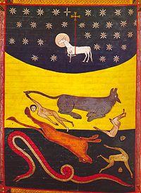 Resultado de imagen para la bestia el dragon y el falso profeta