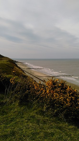 Bacton, Norfolk - Bacton Beach