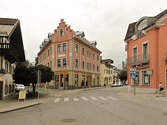 Bad Aibling, straatzicht2 Bahnhofstrasse-Sedanstrasse 2012-08-06 14.51.jpg