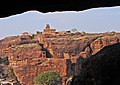 Badami fort viewed from cave shelters.jpg
