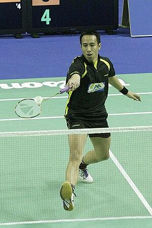 Dicky Palyama - Image: Badminton dicky palyama