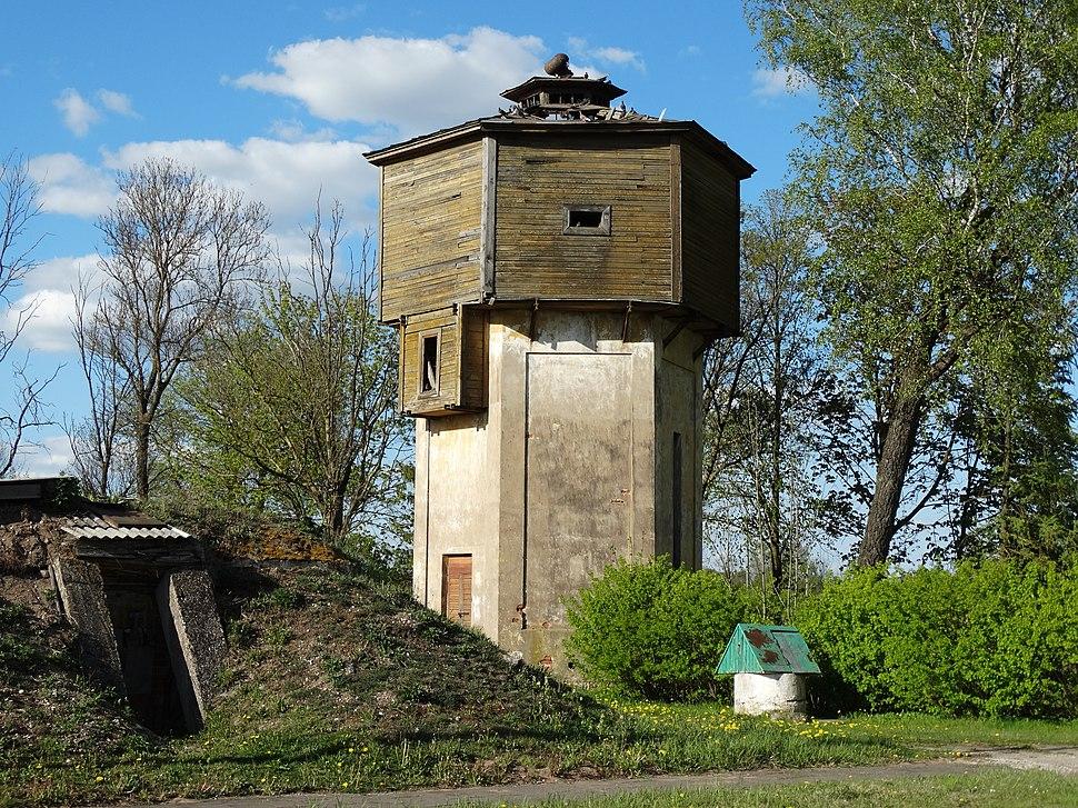 Baisogala, stoties bokštas