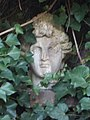 Bajor Gizi Actors' Museum. Garden. Head. - Stromfeld út, Budapest.JPG