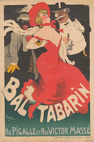 Bal Tabarin (Paris) - Poster by Jules-Alexandre Grün