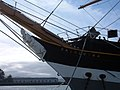 Balclutha name on bow 2.JPG