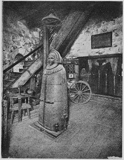 A room in the Tower at Nurnberg