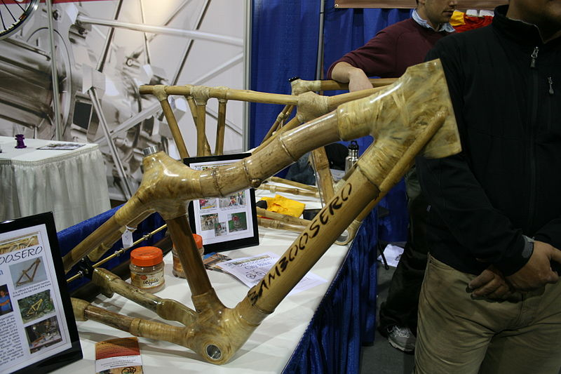 https://upload.wikimedia.org/wikipedia/commons/thumb/8/82/Bamboo_bike_frame_Bamboosero.jpg/800px-Bamboo_bike_frame_Bamboosero.jpg