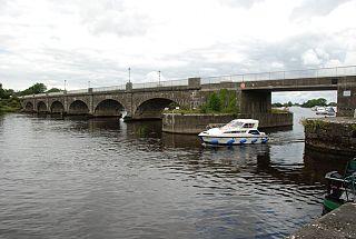 Banagher bridge bridge in Ireland