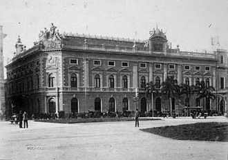 Headquarters of the Bank of the Argentine Nation - Image: Banco Nación (ca. 1880)