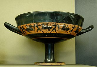 Little-Master cup - Band cup by an unknown Attic artist, circa 540 BC. The Louvre.