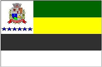 Praça TV - Image: Bandeira Itapetininga
