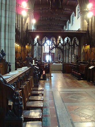 Bangor Cathedral - The Quire