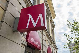 Bank Millennium - A branch of Bank Millennium in Warsaw, Krakowskie Przedmieście Street
