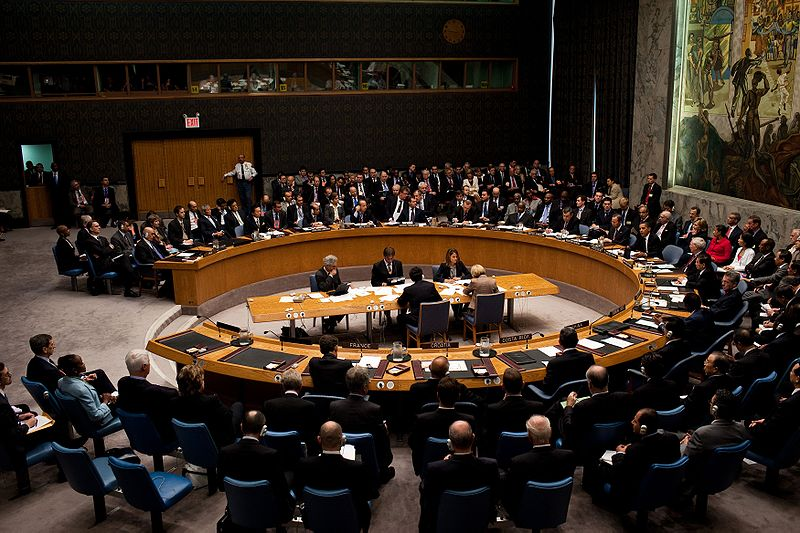 Barack Obama chairs a United Nations Security Council meeting.jpg