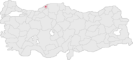 Bartın Turkey Provinces locator.png