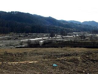 Bâsca Chiojdului river in Romania