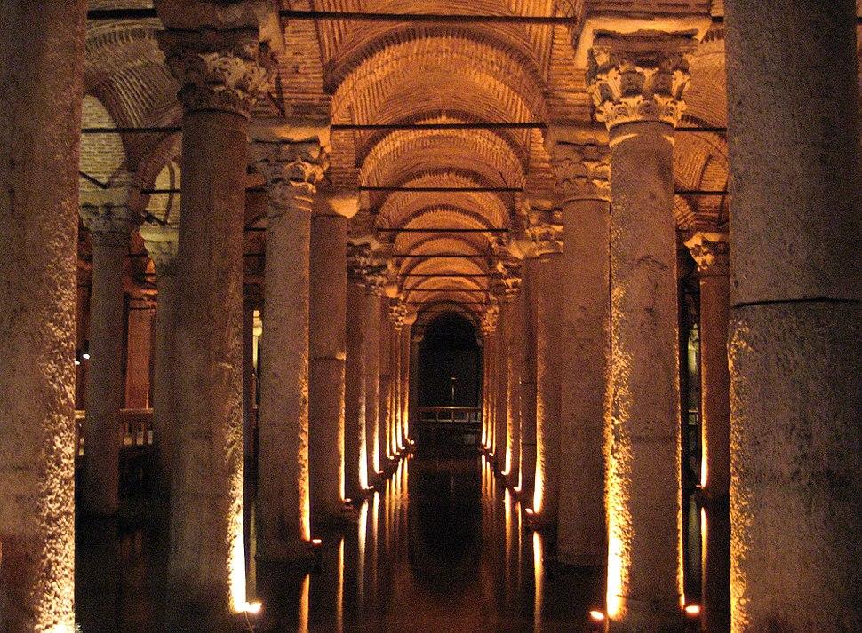 Basilica Cistern, Constantinople