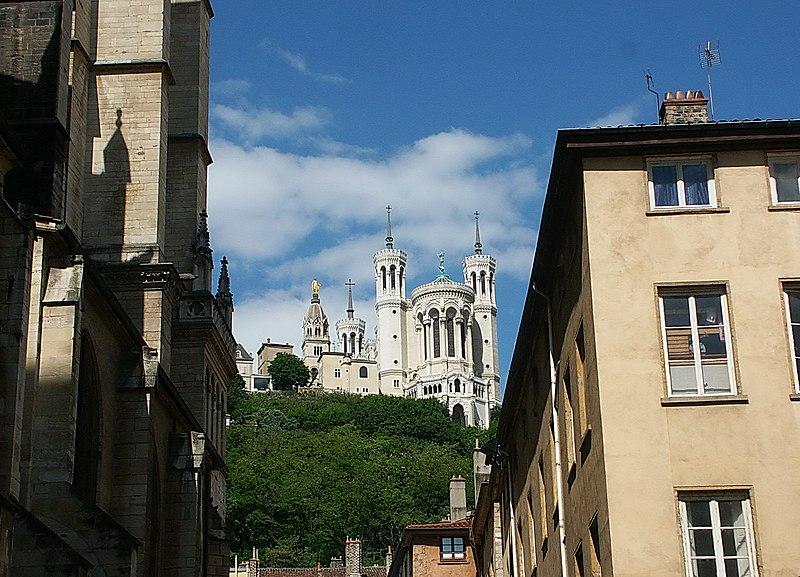 File:Basilique Notre Dame de Fourviere 富維耶聖母院 - panoramio (1).jpg