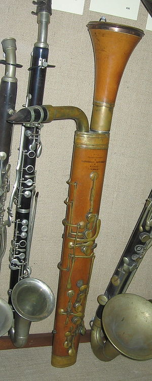 Bass clarinet - Glicibarifono by Catterini, 1838