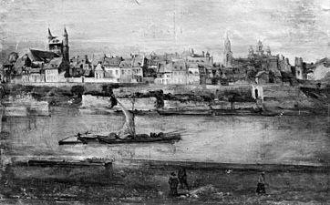 Batpoort te Maastricht 1838, Batpoort in 1849 afgebroken. - Maastricht - 20147706 - RCE.jpg