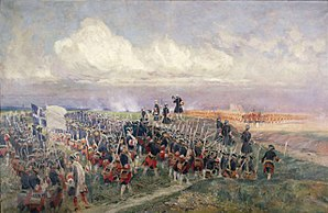 Gardes Françaises - Image: Battle of Fontenoy