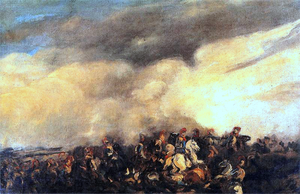 Piotr Michałowski - Image: Battle by Piotr Michałowski