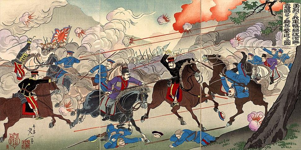 Battle of Yalu River 1904