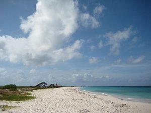 Klein Curaçao - Image: Beach of Klein Curacao
